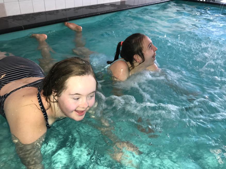 Zwemmen ouddorp september 2020