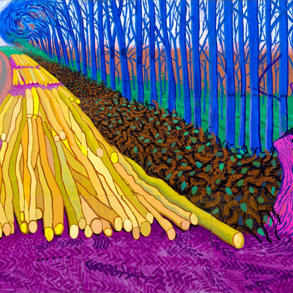 """""""Winter Timber"""" (David Hockney, 2009)"""