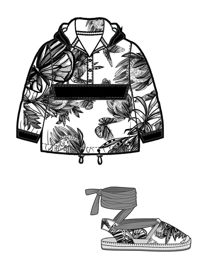 Photoshop drawings/pattern layouts