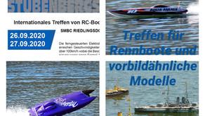 26./27.09 Treffen für Rennboote und vorbildähnliche Modelle