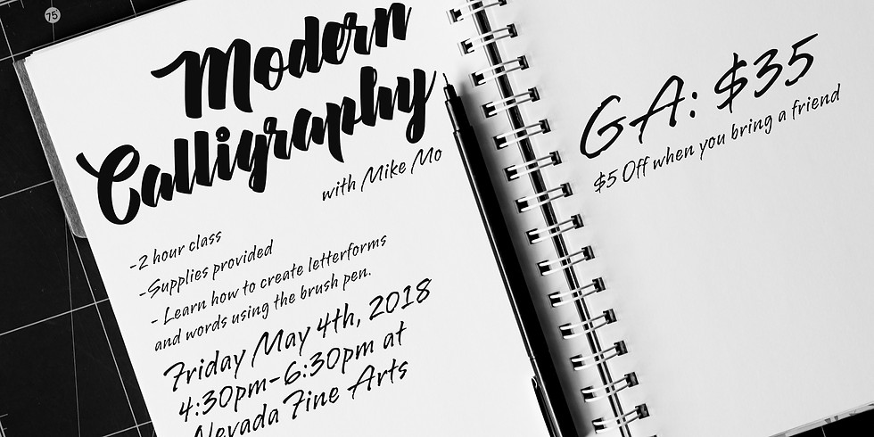 Lettering with Mike: Modern Calligraphy