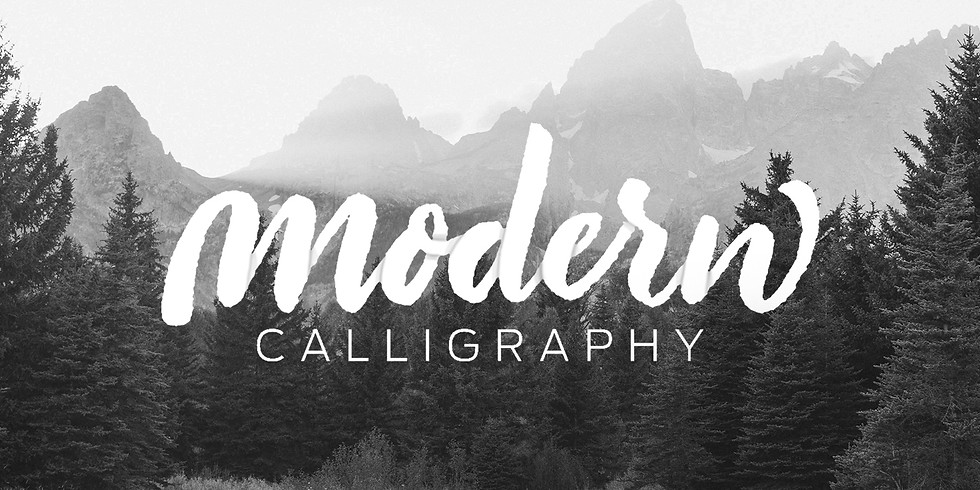 Lettering with Mike: Intro to Modern Calligraphy
