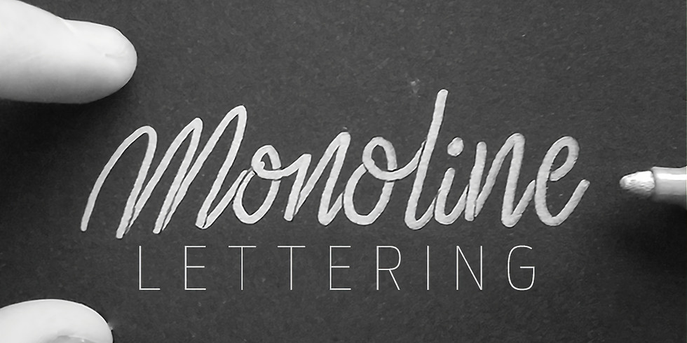 Lettering with Mike: Monoline Lettering