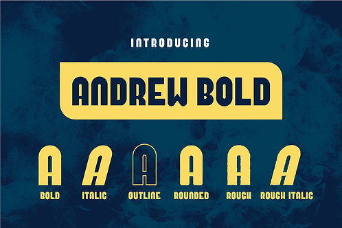 Andrew Bold Font