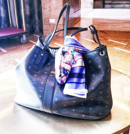 MCM Reversible Tote LIZ Shopper in Visetos
