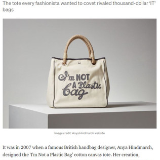 How a $15 designer bag started the Green Style