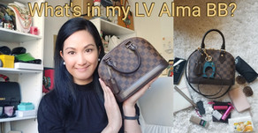 Iconic History of the Louis Vuitton Alma BB and What Fits In my Bag