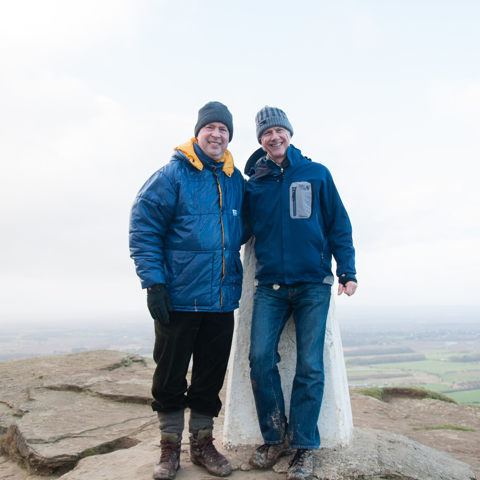 At Roseberry Topping