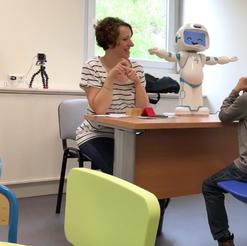 QTrobot autism therapy children