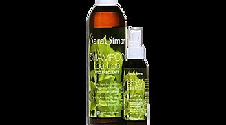 Sara Simar Champú y Spray Arbol de Té Especial Piojos 360ml