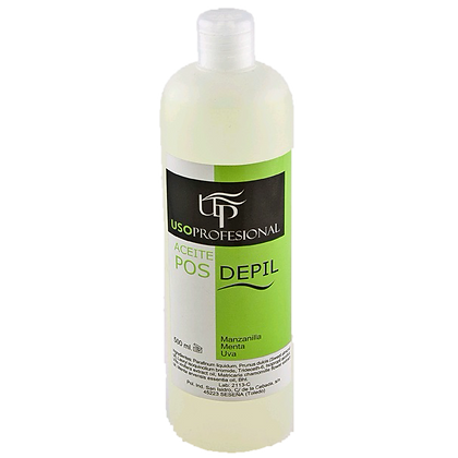 Up Aceite Post-Depil Manzanilla,Menta, Uva 500ml
