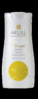 Arual Champú Keravis Nutritivo Cristal Líquido 250ml