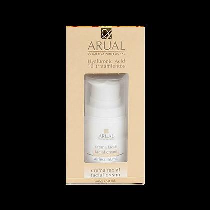 Arual Hyaluronico Acido 10 Tratamientos Crema Facial 50 ml