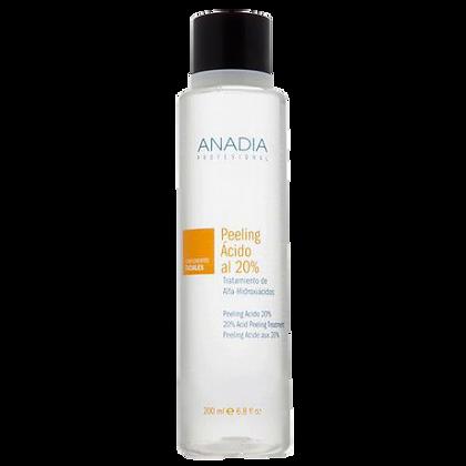 Anadia peeling ácido al 20% tratamiento de alfa-hidroxiacidos 200ml