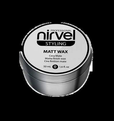 Nirvel Styling Matt Wax Cera Mate 50ml
