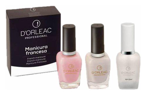D'Orleac Manicura Francesa Rosa 3x13ml