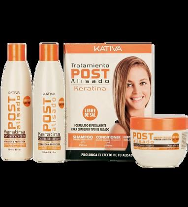 Kativa Kit Tratamiento Post-Alisado