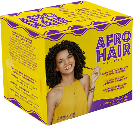 Embelleze Kit Afro Hair 3 unds.