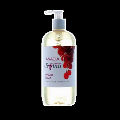 Anadia Masaje Relax Aceite Semillas Uva 500ml