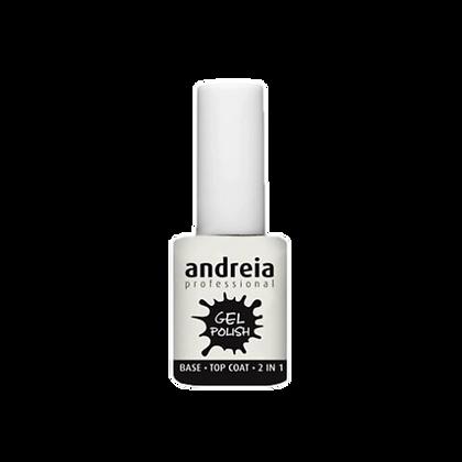 Andreia Gel Polish Base/Top Coat 2 en 1 10.5ml