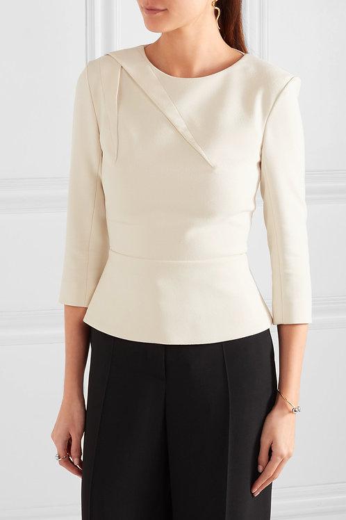 Elegant Three Quarter Sleeve Blouse