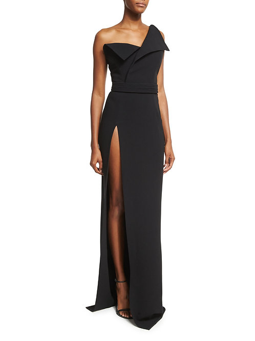 One Shoulder Chic Gown
