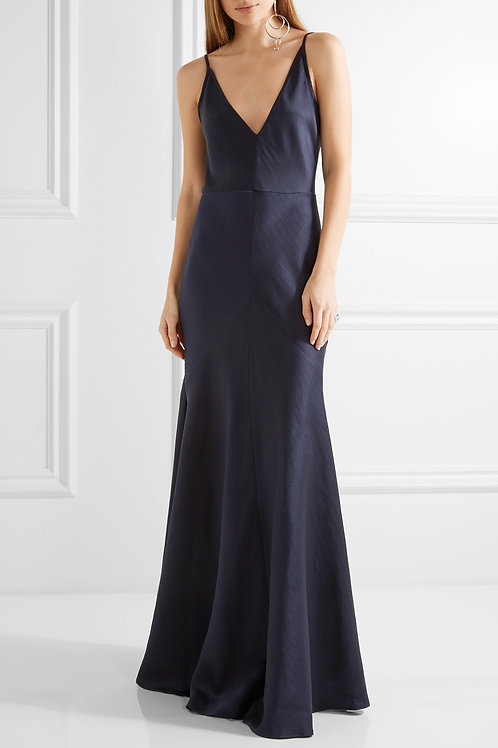 Silk Flowing Slip Gown