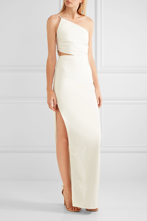 Cut Away High Slit Gown