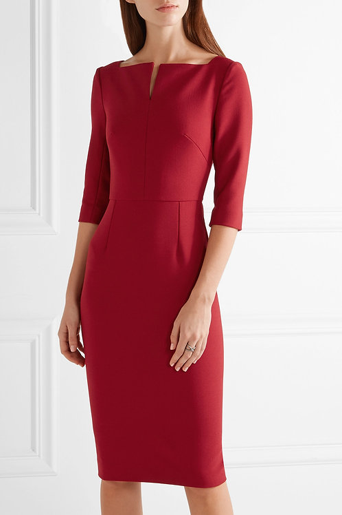 Etty Stretch-Crepe Dress