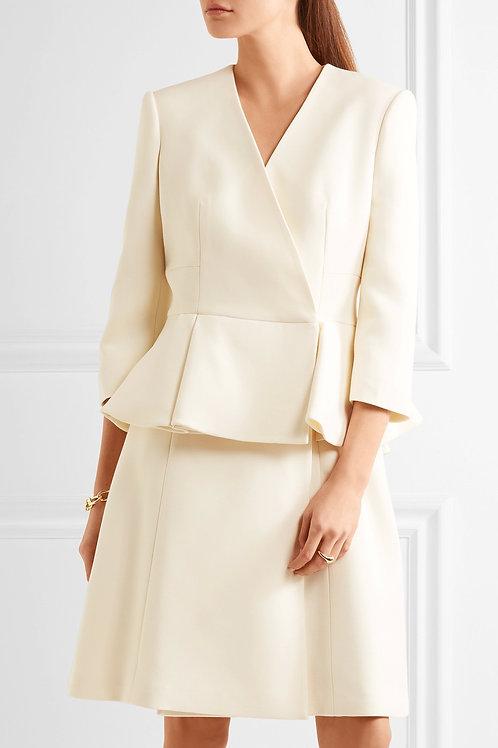 Crepe Coat Dress