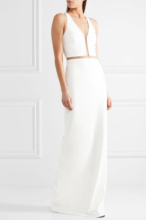 Mesh Cut-Out Dress