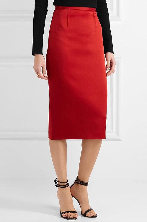 Crepe Classic Pencil Skirt