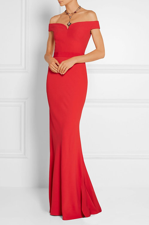 Off The Shoulder Fitted Gown