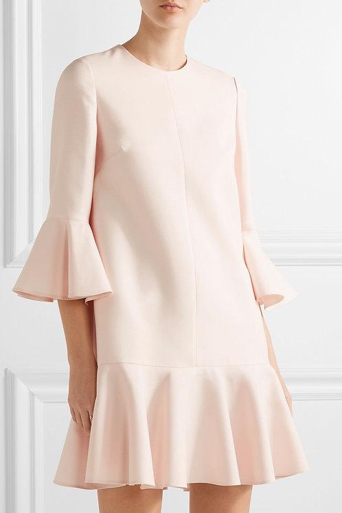 Fluted Mini Dress