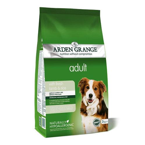 Arden Grange Adult Lamb & Rice Dry Dog Food 12kg