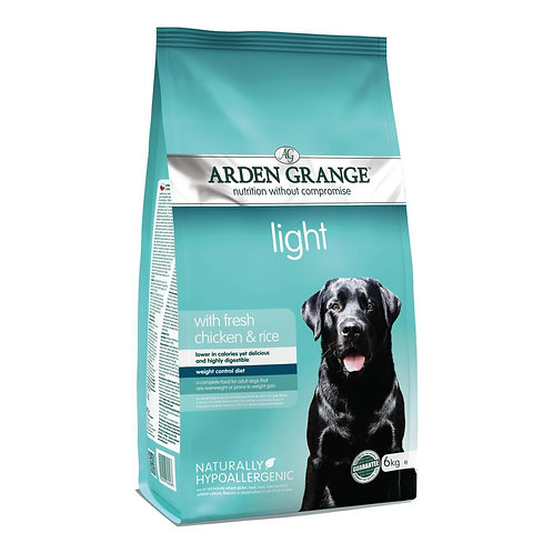 Arden Grange Adult Light Dry Dog Food 2kg