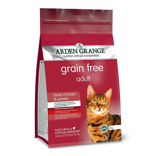 Arden Grange Adult Chicken & Potato Dry Cat Food