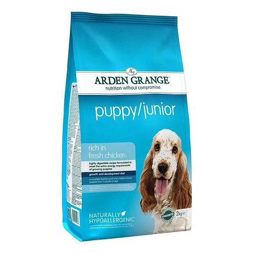 Arden Grange Puppy Junior Dry Dog Food 2kg
