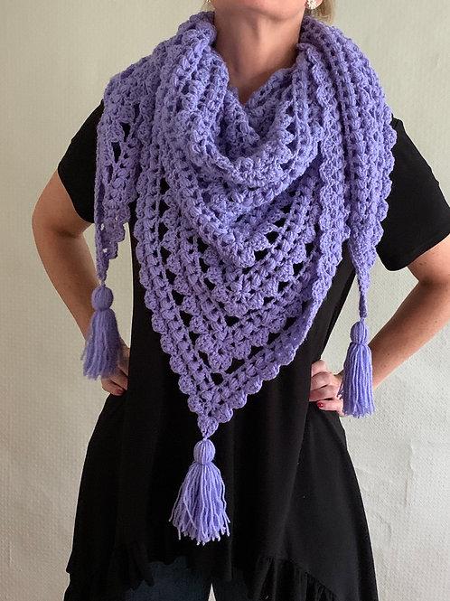 Tulip shawl/wrap