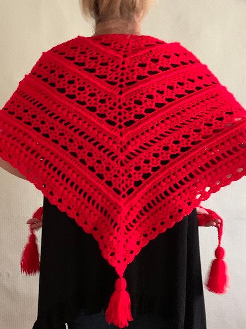 Flamenco shawl/wrap