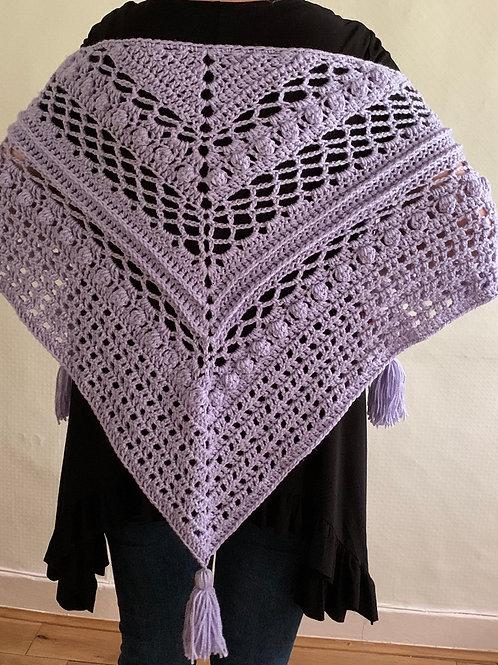 Silvia Hand made shawl/wrap