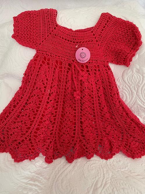 Mia hand crocheted child's dress