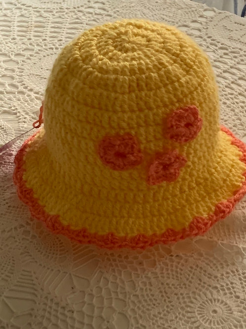 Emilia toddler and baby hat