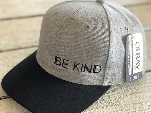 Men's Polyester BE KIND Hat Heavy D
