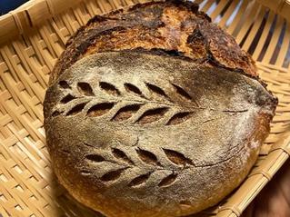 日本語を勉強しながらパンを焼きます!