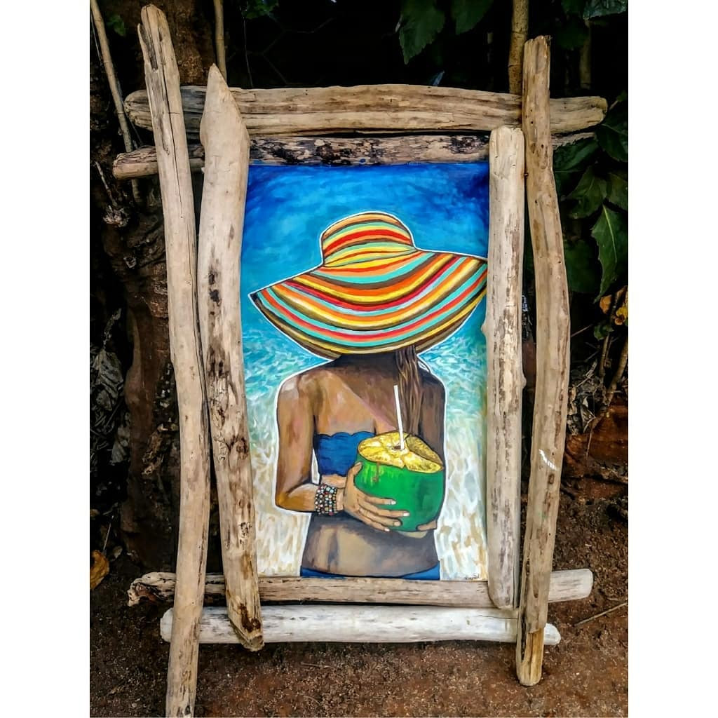 """IN LOVE WITH THE COCO 33""""x23"""""""