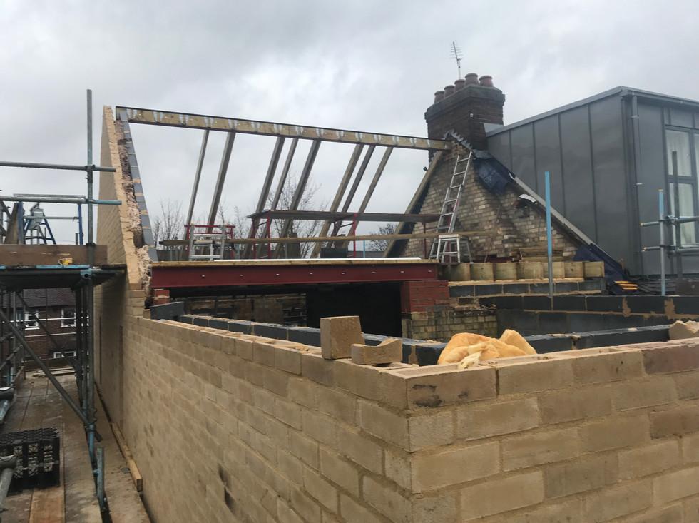 Loft in progress