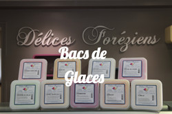 BACS DE GLACES DELICES FOREZIENS