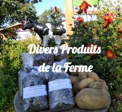 DIVERS PRODUITS DE LA FERME DES DELICES