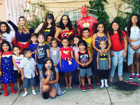 The Ultimate Super hero birthday party